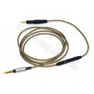 Провод для наушников аудио кабель с микрофоном ATH-M50x M40x M70x  Earmax