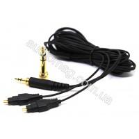 Аудио кабель Sennheiser HD650 HD600 HD580 HD414 HD420 HD430 HD525 HD545 HD