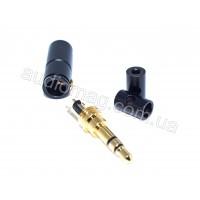 Штекер разборной mini jack 3.5mm SHURE 3pin / 4pin