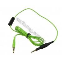 Аудио кабель c микрофоном для наушников AKG K450 Q460 K480 K451